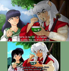 Inuyasha Redraw by Melotonic