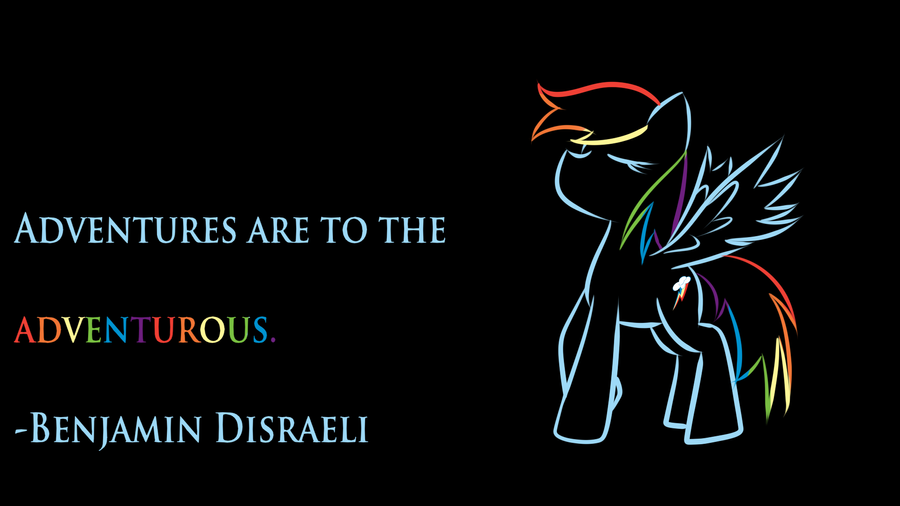 Rainbow Dash Wallpaper! by royalppurpl3