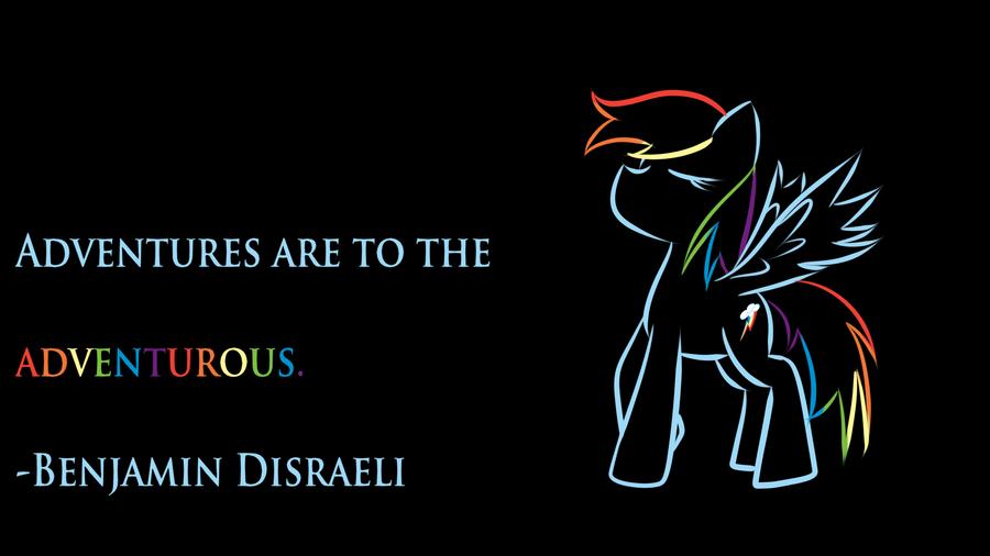 Rainbow Dash Wallpaper! by royalppurpl3
