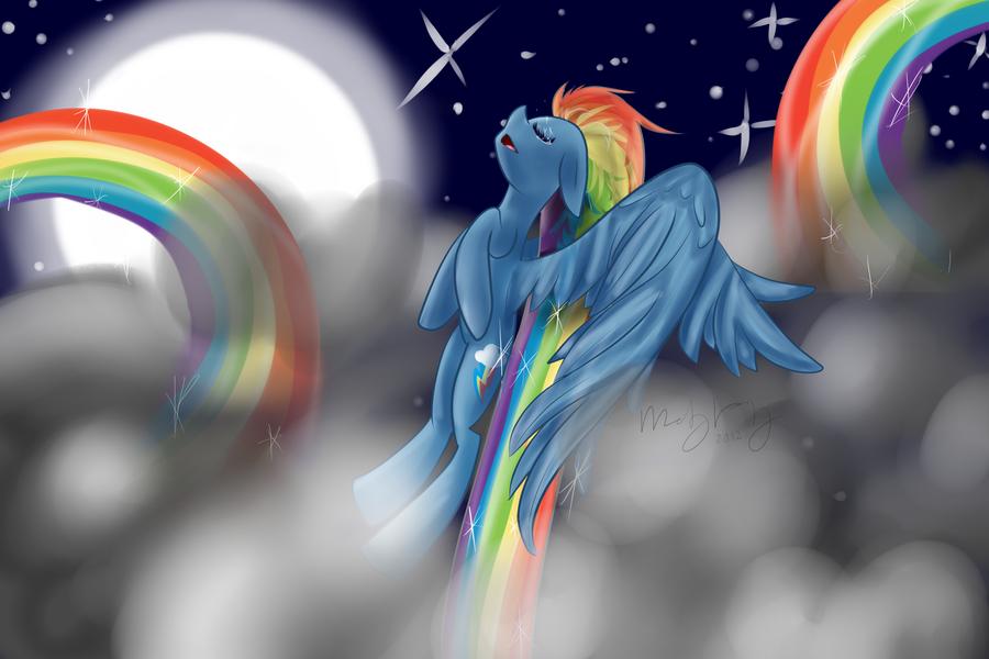 Rainbow Dash's Serenity by royalppurpl3