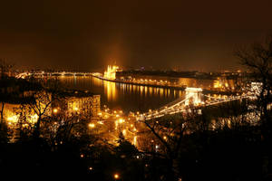 Budapest at Night by Destroth