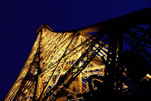 Eiffel from Below by Destroth