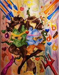 Happy 2nd Underversary!! by SnowShine5