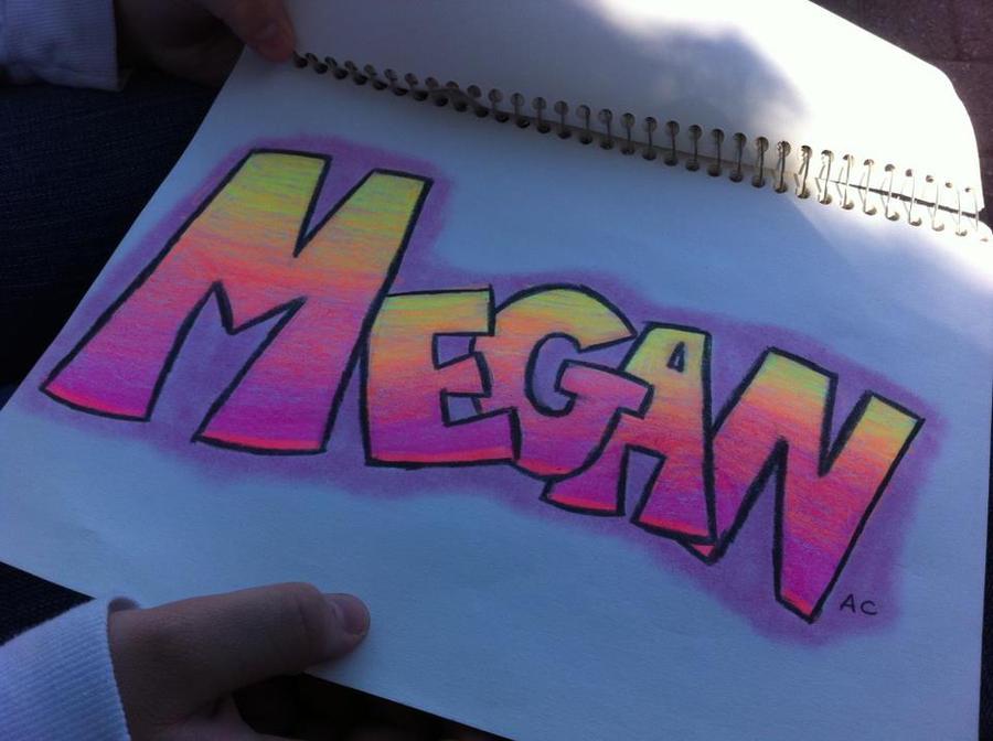 Graffiti Megan by z-star23 on DeviantArt