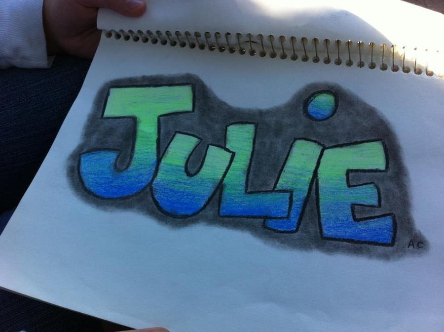The Name Julie in Graffiti images