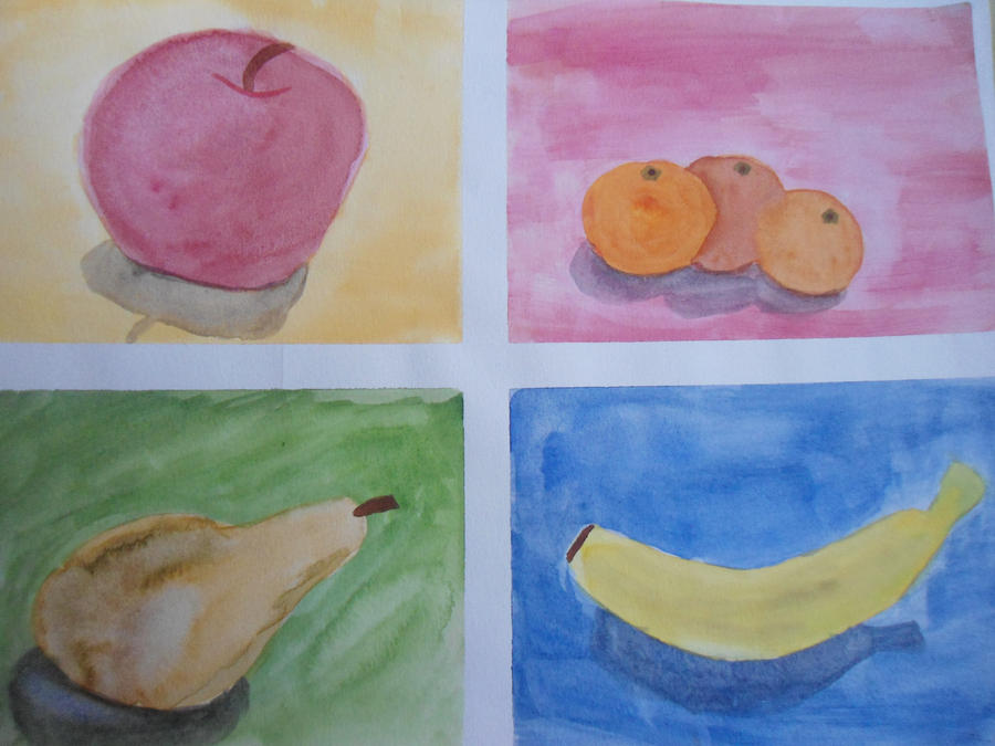 My first watercolor painting by z star23 on deviantart for My first watercolor painting
