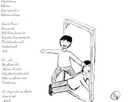 My reflection by NikaE10