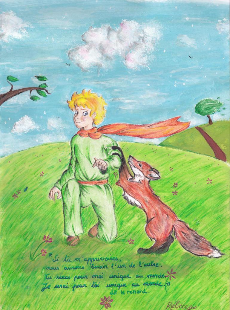 rencontre avec le renard dans le petit prince