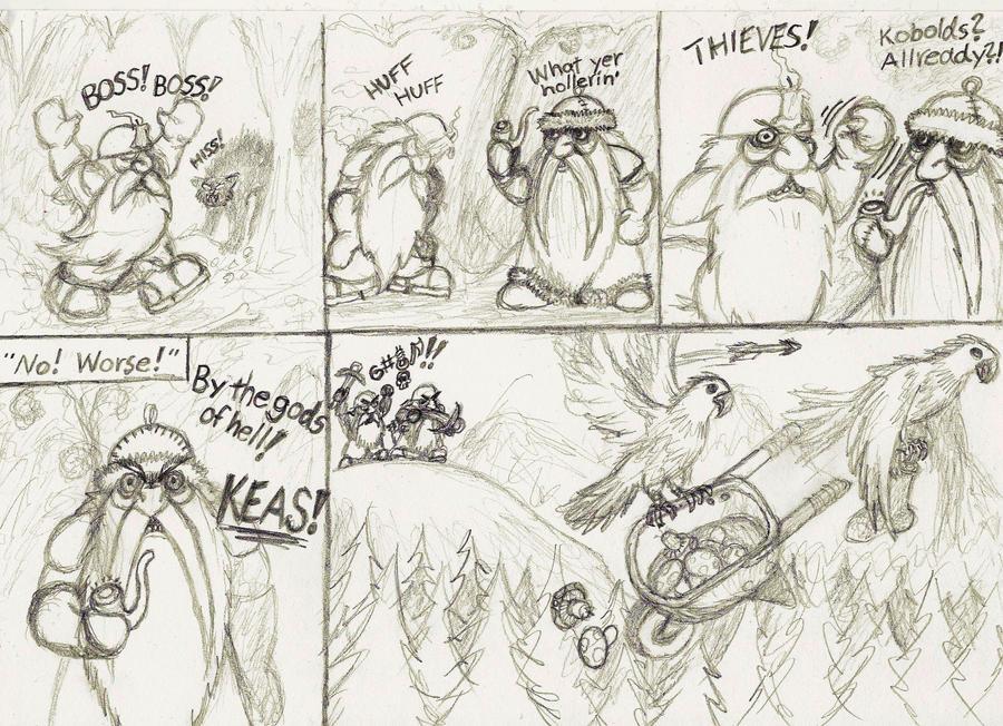 Damn birds! by skinkabamba