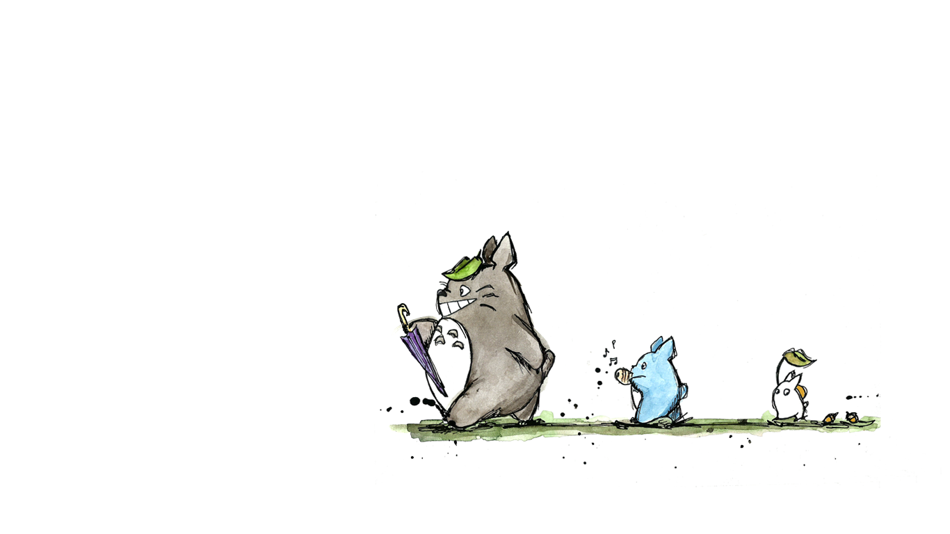 Totoro Wallpaper by maparthur on DeviantArt
