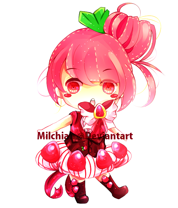 Adoptable : Strawberry(CLOSED) by Milchiah