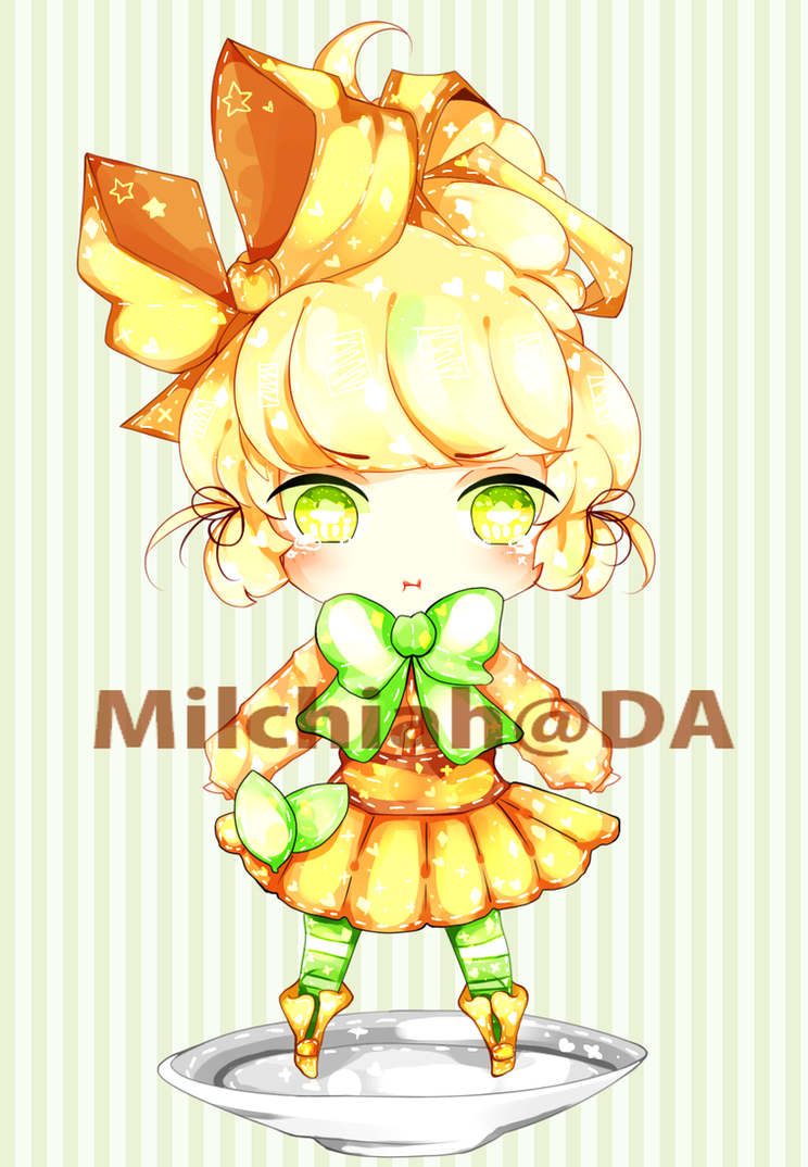 Minty Weep Cream Tart Adoptable [CLOSED] by Milchiah