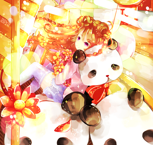 Panda Go Round by Milchiah