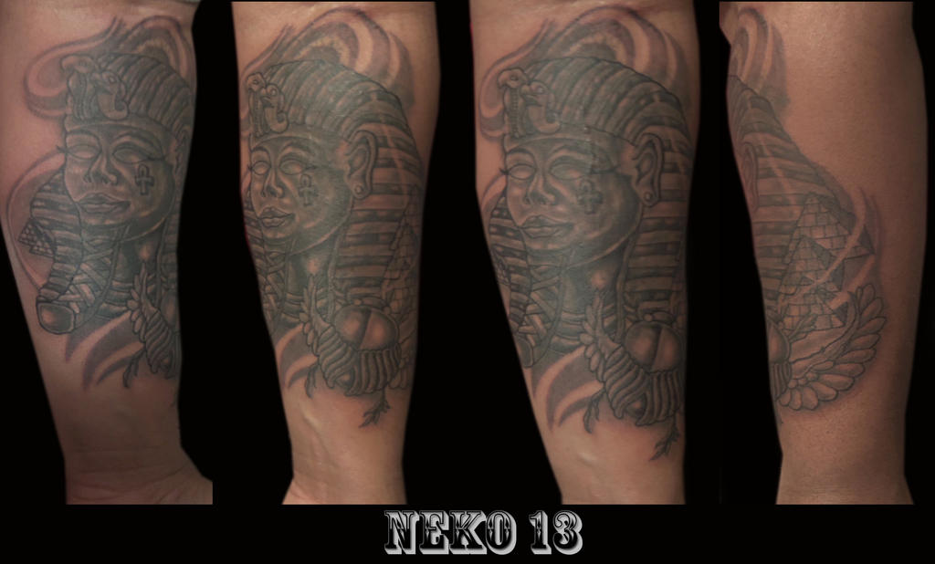 King Tut Tattoo by Neko2023 on DeviantArt