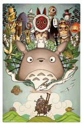 A Tribute to Hayao Miyazaki