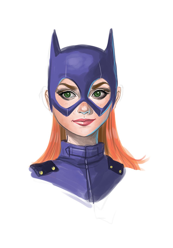 Batgirl Study by chrissie-zullo
