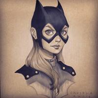 Batgirl by ChrissieZullo