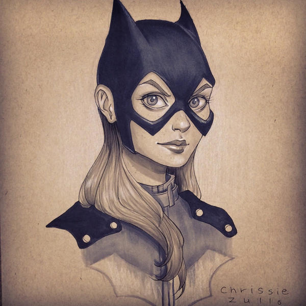 Batgirl by chrissie-zullo