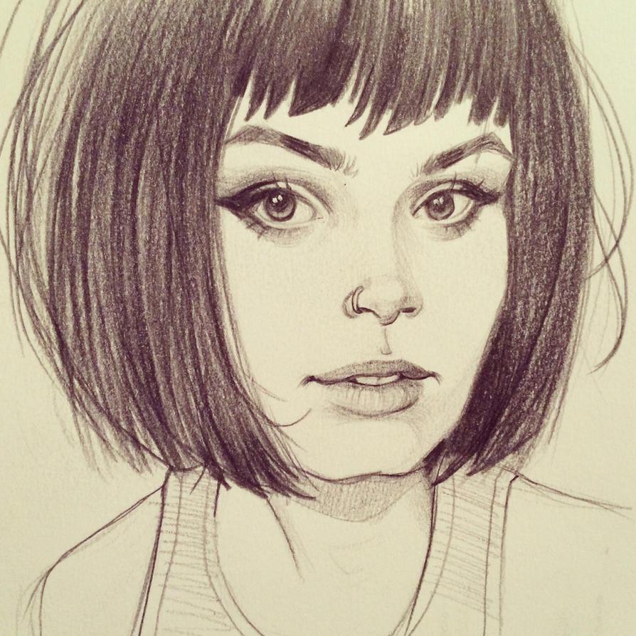 Pretty Girl by chrissie-zullo