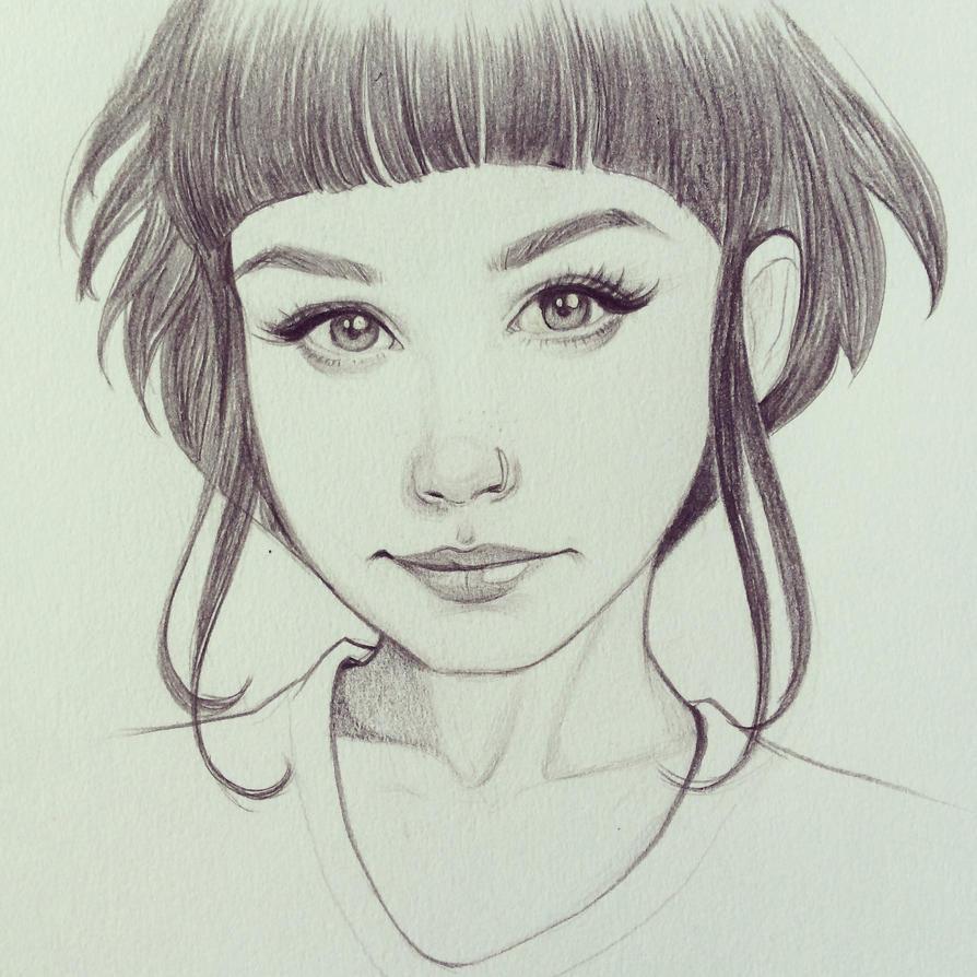 Smirk by chrissie-zullo