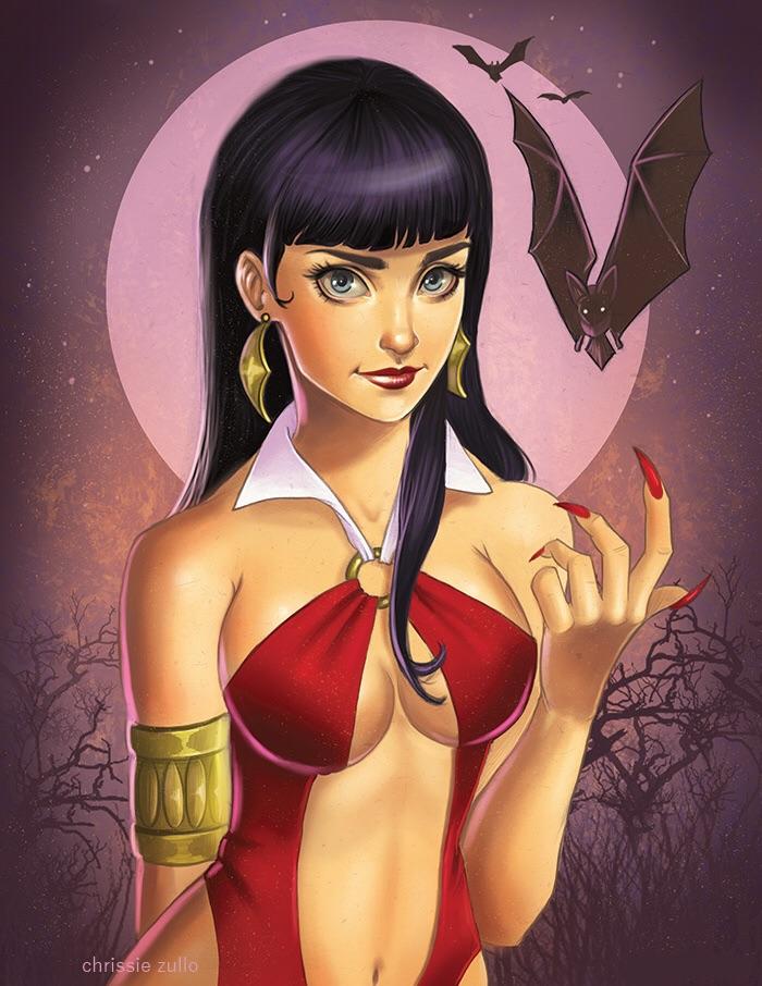 Vampirella by chrissie-zullo