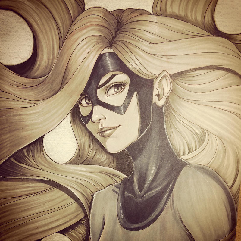Second Medusa Commission by chrissie-zullo