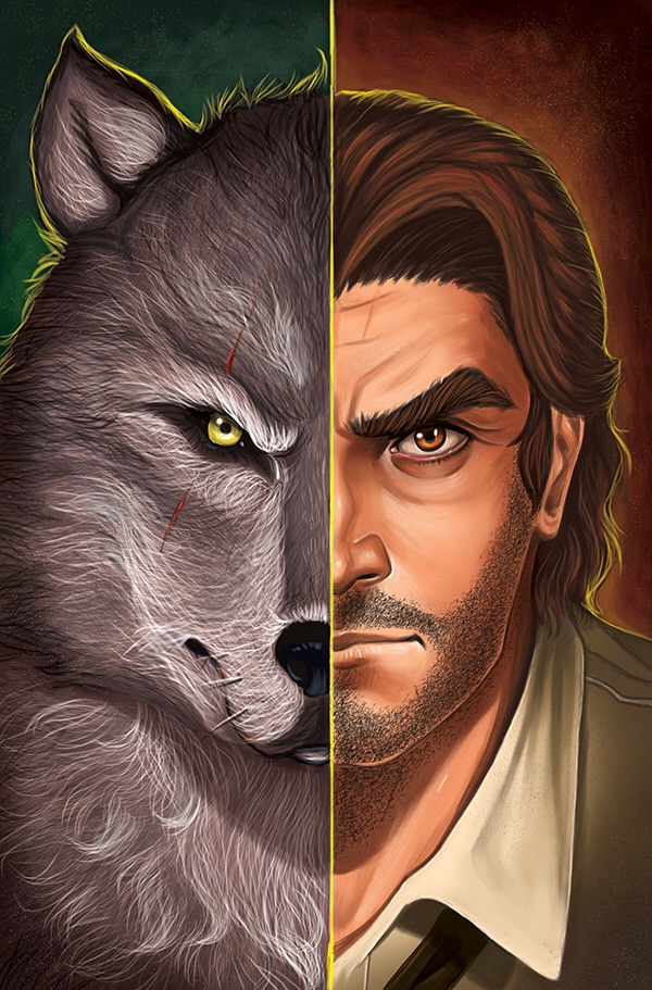 Wolf Among Us Issue 4 Cover by chrissie-zullo