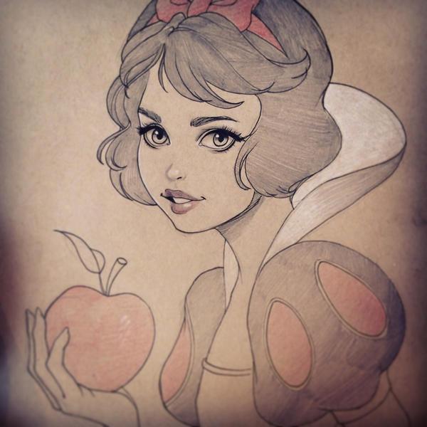 Snow White by chrissie-zullo
