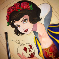 Snow White WIP by ChrissieZullo