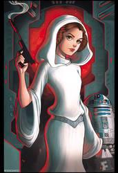 Princess Leia by ChrissieZullo