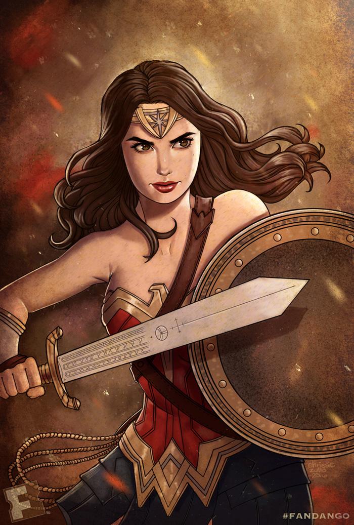 Wonder Woman by chrissie-zullo