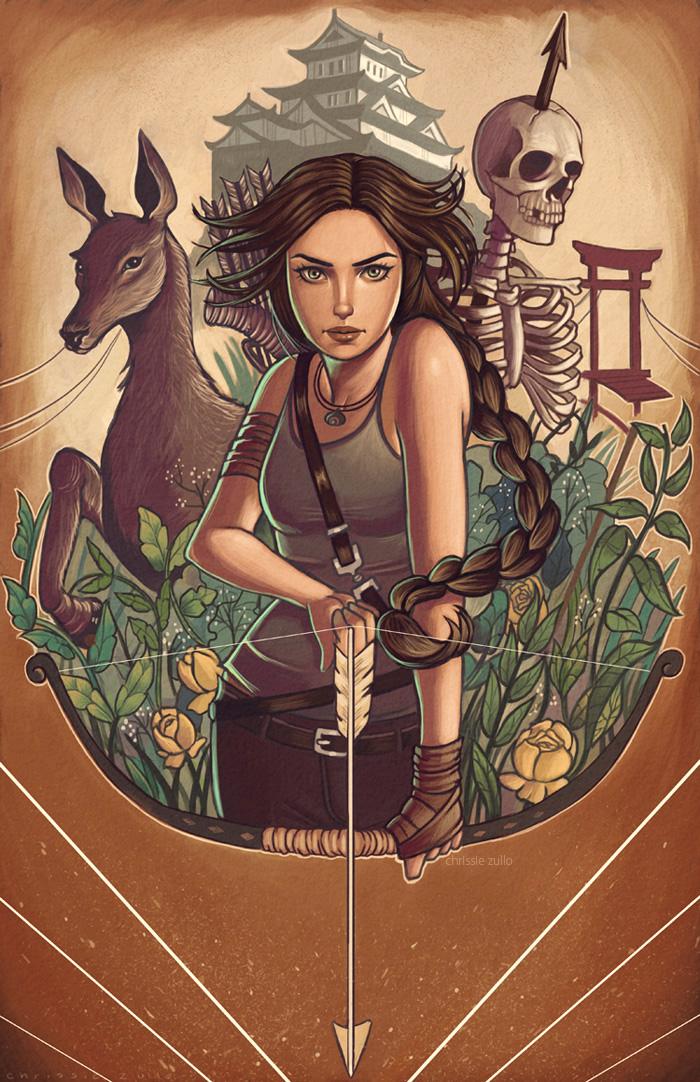Tomb Raider by chrissie-zullo
