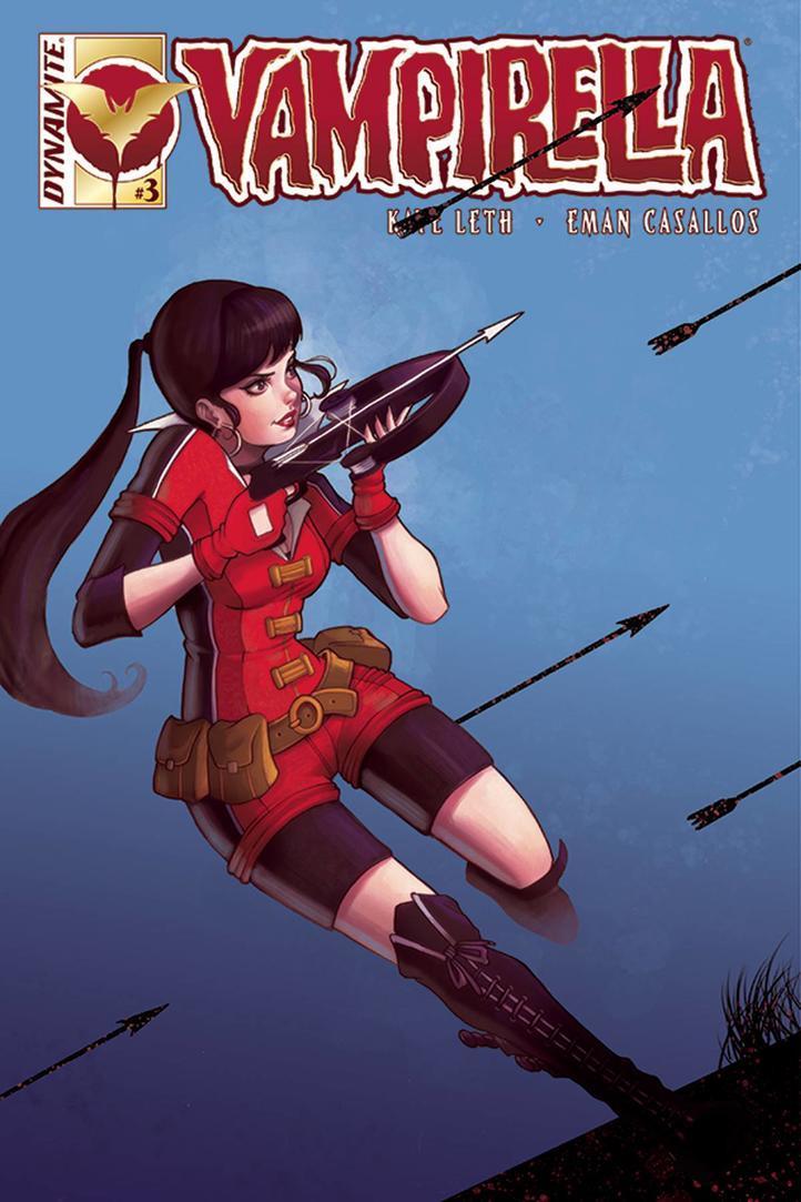 Vampirella Issue 3 by chrissie-zullo
