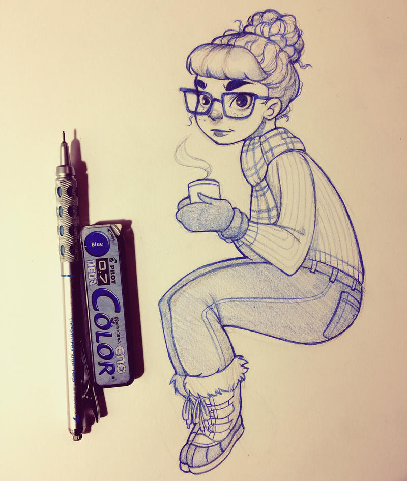 Hot Cocoa by chrissie-zullo
