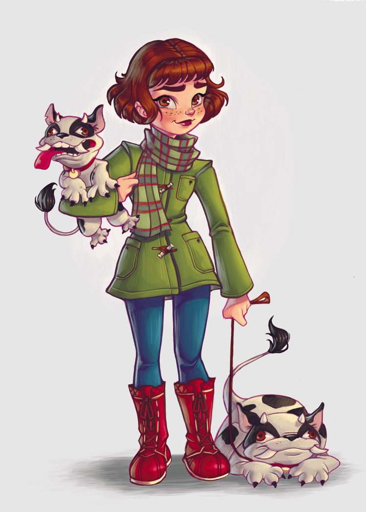 Walking the Dogs by ChrissieZullo