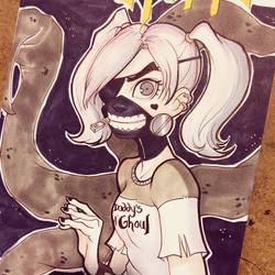 Harley Quinn/ Tokyo Ghoul Mashup