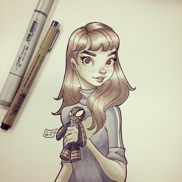 Mary Jane by chrissie-zullo
