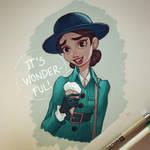 Wonder Woman and Ice Cream