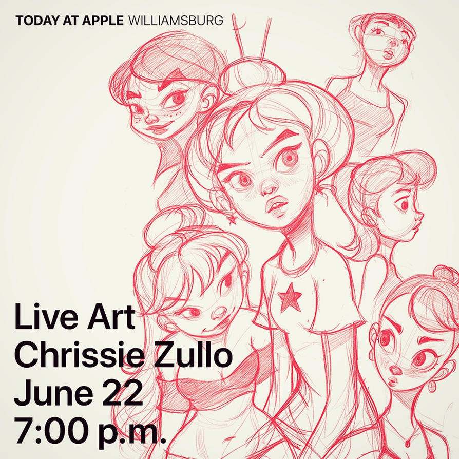 Live Drawing Tutorial! by ChrissieZullo