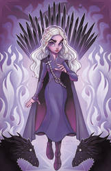 Daenerys Targaryen by ChrissieZullo