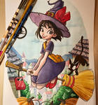 Kiki Watercolor Study