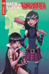 Hack/Slash vs. Vampirella Issue 5 by ChrissieZullo