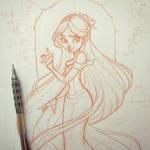Rapunzel Sketch