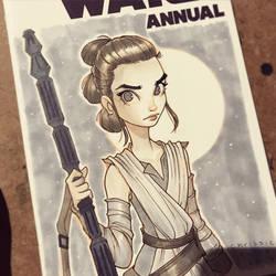 Rey from Star Wars by ChrissieZullo