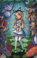 Alice in Wonderland by ChrissieZullo