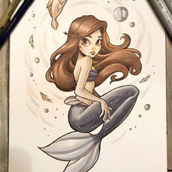 Ariel the Little Mermaid by ChrissieZullo