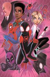 Spiderverse by ChrissieZullo
