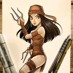Elektra by ChrissieZullo