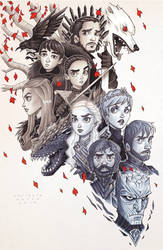Game of Thrones by ChrissieZullo