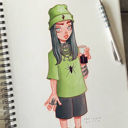 Billie Eilish by ChrissieZullo